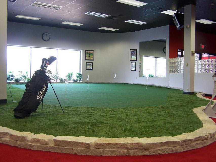 Indoor Greens — Buckeye Putting Greens
